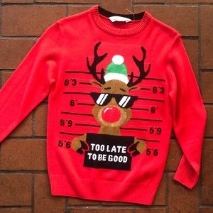 Boys H&M Holiday Sweater Size 8/10